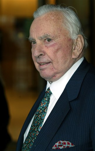 Author Gore Vidal arrives for the Film Society of Lincoln Center's gala event in New York in May 2003. Vidal died Tuesday, July 31, 2012, at his home in Los Angeles. He was 86.