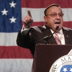 LePage swears, storms out of meeting with independent House members, lawmakers say