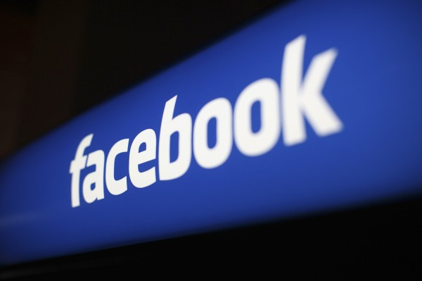 The Facebook logo is pictured at the Facebook headquarters in Menlo Park, California, in this Jan. 29, 2013 file photo. Facebook on Friday said its website had been hacked.