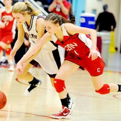 Diplock helps Cony rally past Edward Little for Eastern A girls crown