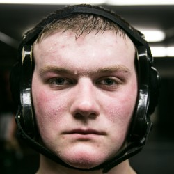 Victor Irwin will wrestle for his second Class A state wrestling title on Saturday after going 43-0 this season.