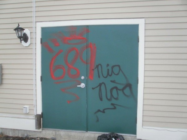 Old Town police are looking for whoever tagged 10 downtown businesses and one residence with graffiti sometime between sundown March 4 and sunrise March 5, 2013, said police Officer Josh Loring.