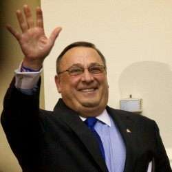 Bills stacking up on LePage's desk after he said 'nothing' will get done until hospital debt paid