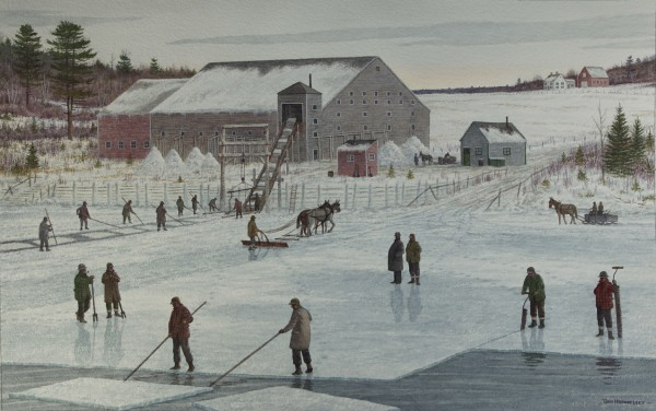 Remembering Maine's ice age, from February 2011