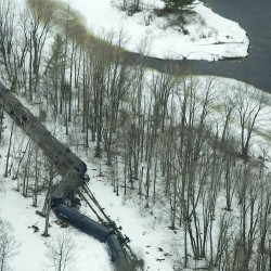 Site of Mattawamkeag derailment restored, Pan Am says