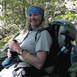 "Searsport native Peggy Alden Stout is the author of ""Letters from the Trail,"" a book published in 2013 that shares Stout's experiences hiking the Appalachian Trail in sections from 2000 to 2010."