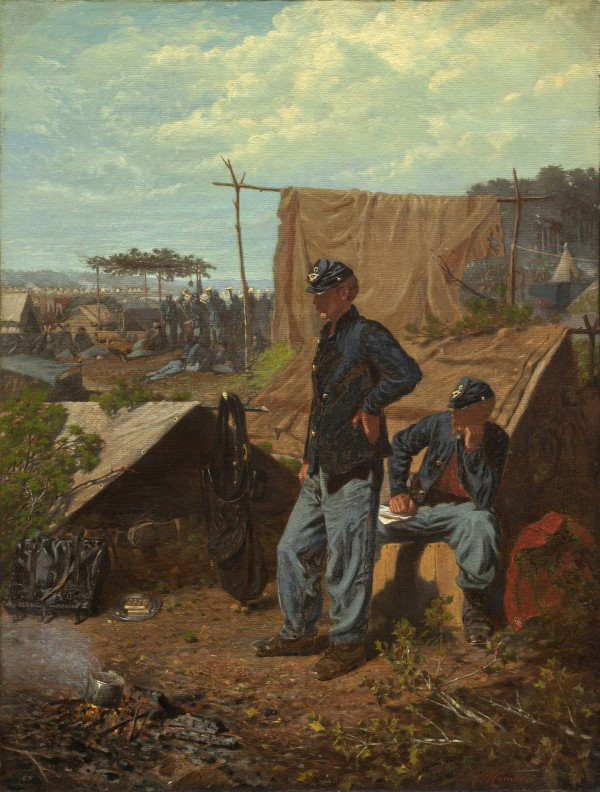 &quotHome Sweet Home&quot (c. 1863) by artist Winslow Homer was among 57 works featured in the exhibition &quotThe Civil War and American Art&quot at the Smithsonian Institution's National Museum of American Art in Washington, D.C., in 2012.