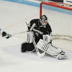 Maine hockey's Joey Diamond hoping to continue scoring streak against the Catamounts
