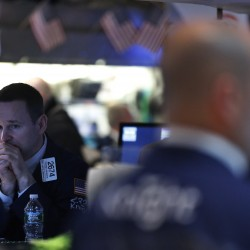 Wall Street posts worst day since Nov. 7 on gold's drop, Boston blasts