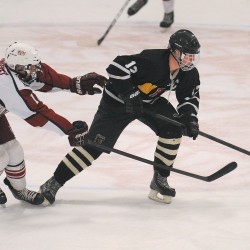 LIVE: High school hockey Eastern A semifinals, Bangor vs. St. Dominic