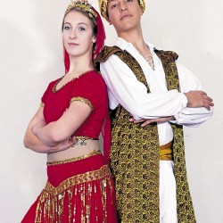 Sadie Webb and Tom Boss of the Robinson Ballet will dance in &quotAladdin&quot in the Robinson Ballet LIVE Youth Matinee at 3 p.m. Saturday, April 6 and 13, at the Bangor Opera House.