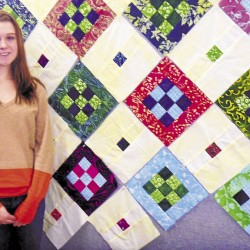 Quilting outside the box