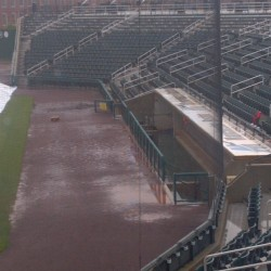 he America East championship baseball game pitting UMaine against Binghamton was postponed Saturday, May 25, because of bad weather conditions.