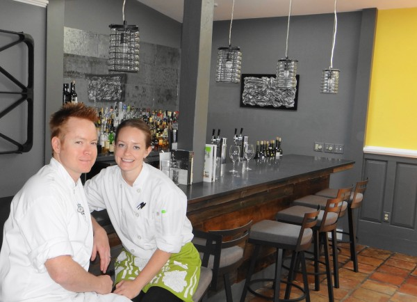 Ryan and Alyson Flemming have opened Fromviandoux, a French-inspired restaurant on Washington Street in Camden.