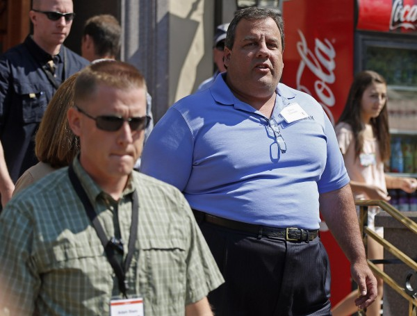 Governor of New Jersey Chris Christie attends the Allen & Co. Media Conference in Sun Valley, Idaho in this July 12, 2012 file photo. Christie, who has struggled with obesity for much of his adult life, underwent lap band surgery in February to reduce the size of his stomach, at the urging of his wife and children, his press secretary said May 7, 2013.