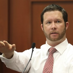 Trayvon Martin murder trial lawyers clash over shooter's motive