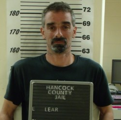 Todd B. Lear from his arrest late in the evening of June 15.