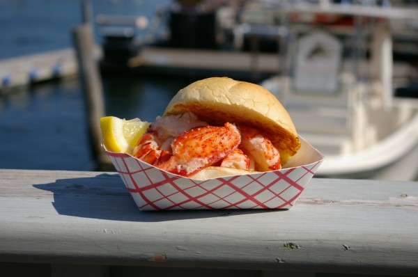 The Clam Shack of Kennebunkport, which produced this lobster roll, claimed the coveted Fan Favorite championship at the 2012 Tasting Table Lobster Roll Rumble. Owner Steve Kingston returned to New York City this year to defend the title.