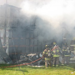 Owners, investigators sift through rubble of Sedgwick fire