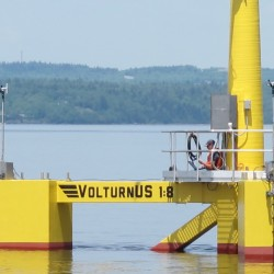 UMaine, MMA set to deploy prototype floating wind turbine in Castine
