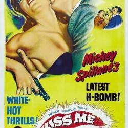 River City Cinema presents KISS ME DEADLY,  Friday, July 19 in Pickering Square, Downtown Bangor. FREE! Movie starts after sunset (around 8:30), bring your own seating.