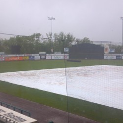 The America East championship baseball game in May pitting UMaine against Binghamton was postponed because of bad weather conditions.