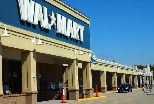 The Walmart on U.S. Route 1 in Falmouth Tuesday, July 30, 2013.