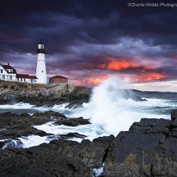 The Waves Came Crashing Full by Charlie Widdis