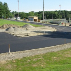Community support enables Old Town High School to begin building new track as part of proposed $1.5 million athletic facilities project