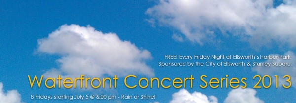 FREE Waterfront Concert with Shades of Blue!