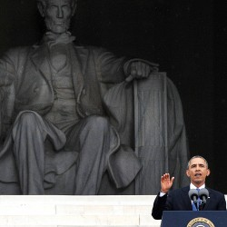 King anniversary puts a spotlight on Obama and civil rights