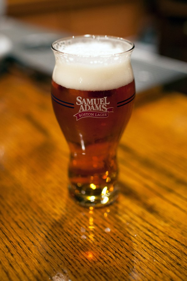 A pint of Sam Adams Boston Lager. The popularity of the craft brew has helped make Sams Adams founder, Jim Koch, a billionaire.