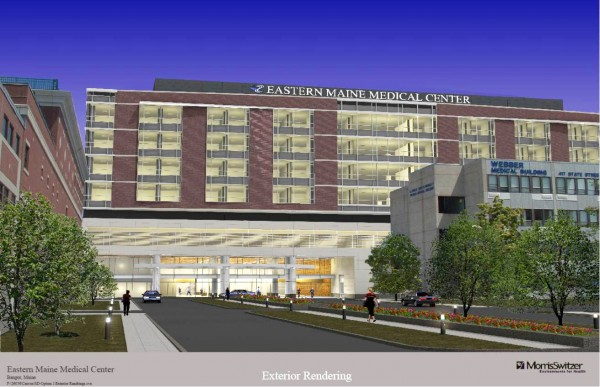 Eastern Maine Medical Center in Bangor recently revived plans to construct a seven-story tower at its State Street campus as part of a $250 million project described as the largest ever undertaken by the hospital's parent organization.