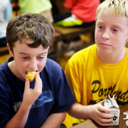 School lunch changes: Are Maine students or the trash getting more fruits and vegetables?