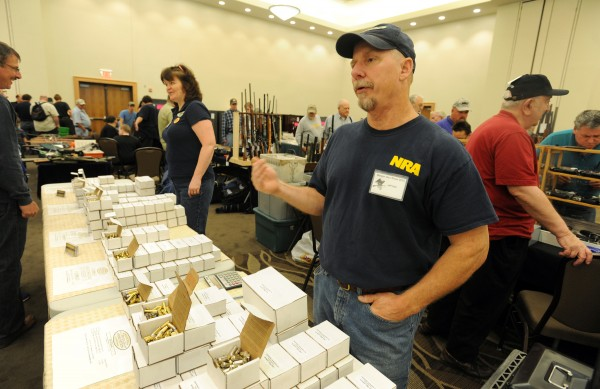 Jeff Holt, owner of Appalachain Ammunition in Farmington, talks about the increase in ammo sales over the last four plus years.  &quotPeople are concerned,&quot stated Holt, &quotour second ammendment is under assault.&quot  The 2013 Annual Bangor Gun Show hosted by the Penobscot County Conservation Associtation was held at the Cross Insurance Center over the weekend.