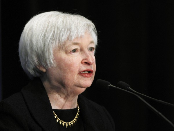 Federal Reserve Vice Chair Janet Yellen addresses the 29th National Association for Business Economics Policy Conference in Washington in this file photo from March 4, 2013. Former Treasury Secretary Lawrence Summers' withdrawal from consideration to succeed Federal Reserve Chairman Ben Bernanke turns the focus on Janet Yellen.