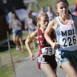 'Team over individual' motto guides powerhouse MDI girls' cross country team