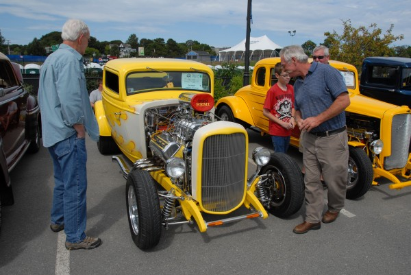 A 1932 Ford Bison Coupe owned by Reggie Lacadie of Milford attracted the attention of passersby during the Sixth Annual Bangor Car Show.