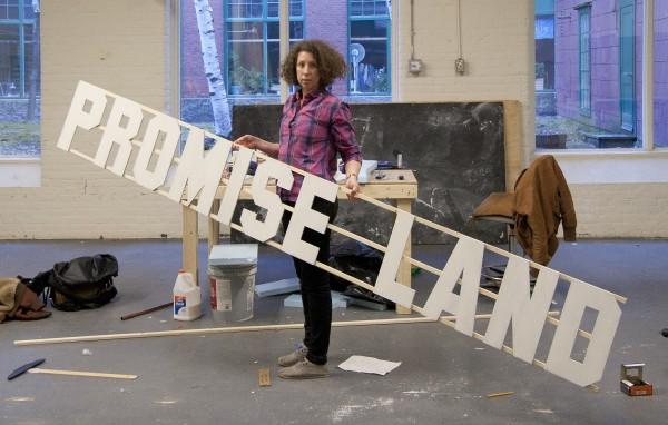 Alicia Eggert of Portland is the Maine Arts Commission's 2014 visual arts fellow.
