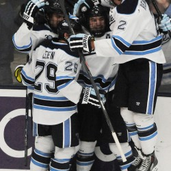 First-year coach Red Gendron's Black Bears have to put more pucks in net
