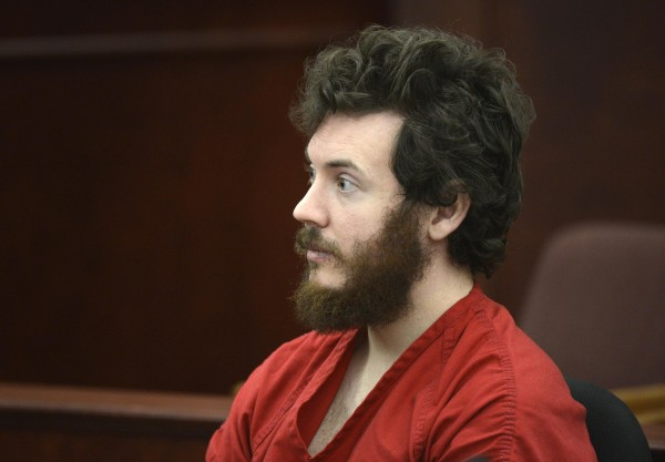 Accused Aurora theater shooting suspect James Holmes listens at his arraignment in Centennial, Colorado on March 12, 2013.