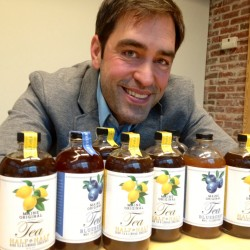 Jay Lombard of Portland developed Finest Kind Tea Concentrate to give tea lovers a beverage on the go.