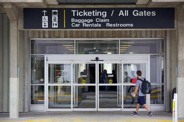 Bangor International Airport is shown last year.