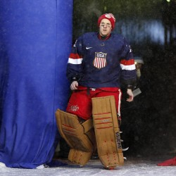 Former UMaine All-American is one of six goalies in mix for US Olympic berth