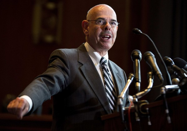 U.S. Rep. Henry Waxman (D-CA) speaks during a news conference calling for no reduction in the Medicare and Medicaid budgets, as part of the year end budget talks on Capitol Hill in Washington in this December 11, 2012 file photo.