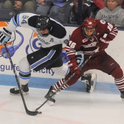 Creech exploring ways to put more fans in seats at UMaine hockey games