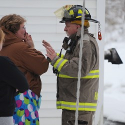 Retired firefighter, 'great guy' honored for 45-year career