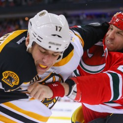 Devils score four power-play goals in 4-3 win over Bruins