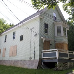 Bangor takes possession of blighted building, but officials aren't happy about it