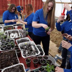 UMFK Students Introduced to Four-Season Organic Growing